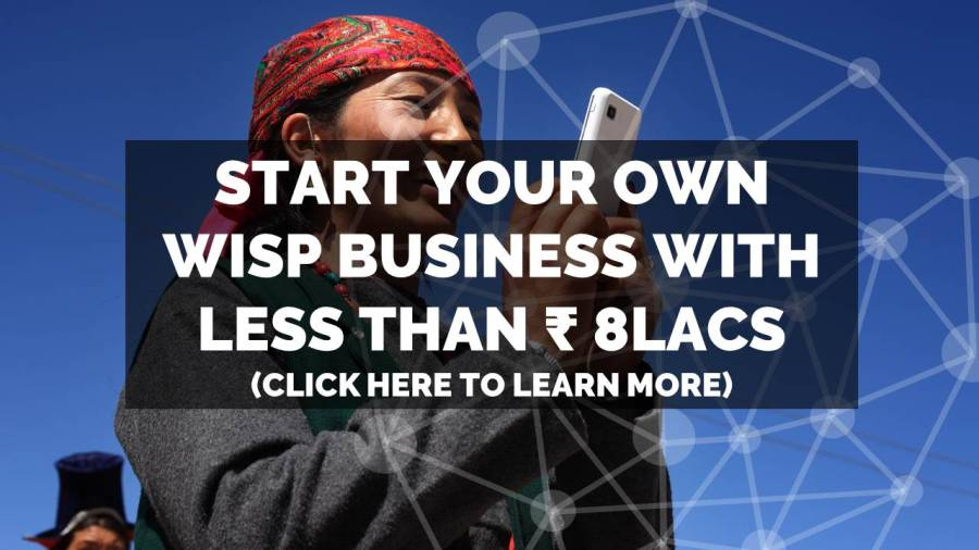 How to start an ISP / WISP business in India with less than ₹ 800,000?